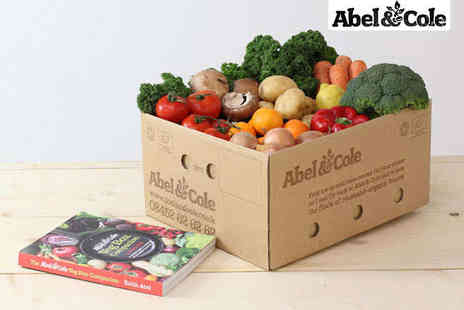 Abel & Cole - Four Medium Sized Vegetable Boxes with Delivery and Abel & Cole Vegetable Companion Cookbook - Save 57%