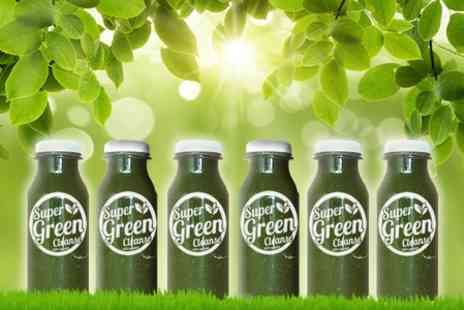 Super Eleven Shake - Three Super Green Juice Cleanse Programme - Save 78%