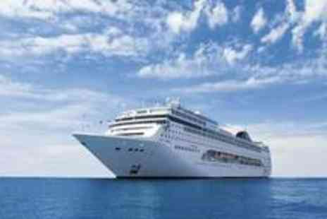 Cruise Nation - Five night Stay in outside Cabin, full board Mediterranean cruise aboard - Save 47%