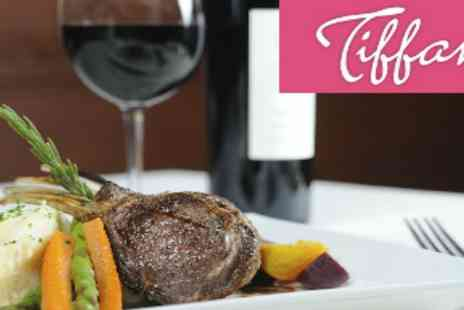 Tiffanys - Meal Wine and Cabaret  - Save 50%