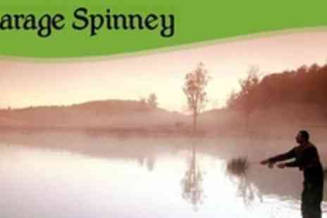 Vicarage Spinney Trout Farm - Day Ticket for Fly Fishing Experience With Breakfast For Two - Save 74%