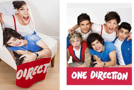 Divinity Fashion - One Direction Craze Panel Fleece Blanket - Save 50%