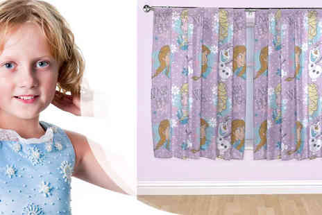 Divinity Fashion - Frozen Print Drop Curtains - Save 32%