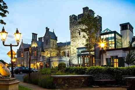 Clontarf Castle Hotel - Historic Dublin Castle Hotel Stay with Breakfast - Save 49%