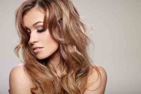 salontwo Hairdressing - Full head of foil highlights or a full head of colour plus a cut and blow dry - Save 64%