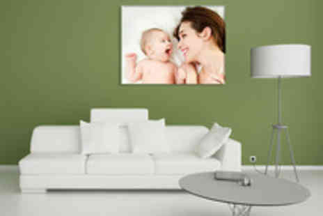 TRUPRINT - A Choice of Personalised Photo Canvases Including Delivery - Save 63%