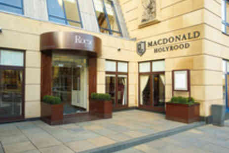 Macdonald Holyrood Hotel  - Spa Day with a Treatment for One Use of Facilities and Afternoon Tea - Save 42%