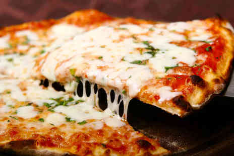 Prego Pizzeria - Main Course with Glass of Wine Each for Two - Save 46%