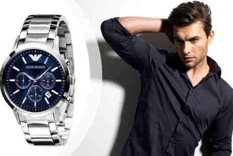designer posh watches - Emporio Armani Mens Chronograph Watches - Save 48%