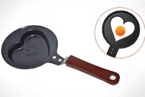 Zip Gadgets - Heart Shaped Frying Pan - Save 71%