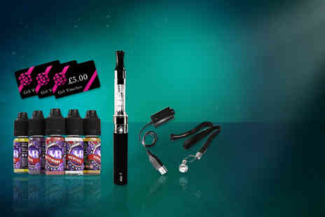 Vapeabox - 10 piece e cigarette starter kit  - Save 58%