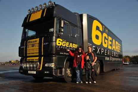 6th Gear Experience - Junior or adult truck driving experience - Save 53%