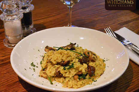 Whighams Wine Cellars - Starter, Main Course, and a Glass of Prosecco Each for Two  - Save 52%