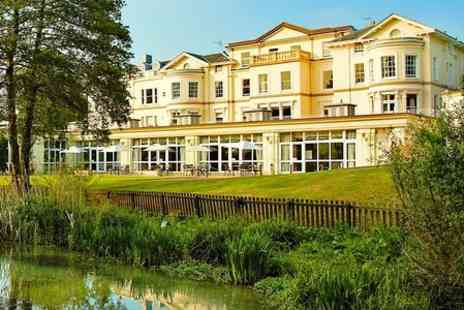 The Cheltenham Park Hotel - One Night stay For Two With Dinner and Wine - Save 0%