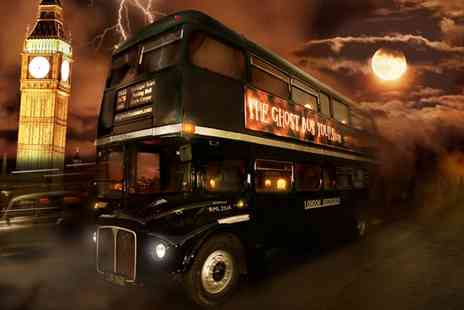 The Ghost Bus Tours - The Scary and Hilarious Ghost Bus Tours of London including Guide Book - Save 40%