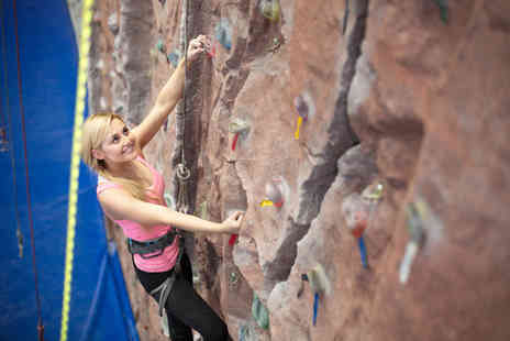Portway ClimbingWall - Climbing session for one - Save 63%