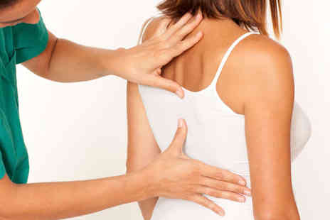 Back to Health Chiropractic Clinic - Deep Postural Back Massage Including Posture Analysis - Save 68%