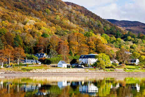 The Onich Hotel - One Night Scottish Highlands Getaway for Two, with Cream Tea on Arrival, Breakfast - Save 55%