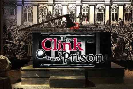 Clink Prison - Clink Prison Museum Entry For Two  - Save 50%