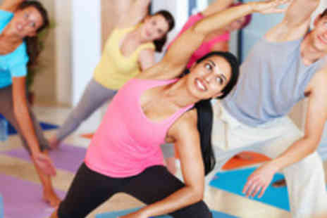 MoveGB - 10 Yoga Classes including Hot Yoga - Save 71%