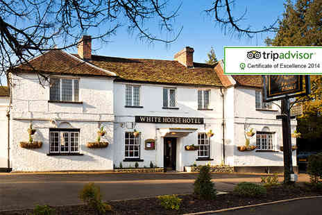 The White Horse Hotel - Overnight stay for two including Three course dinner and breakfast - Save 36%