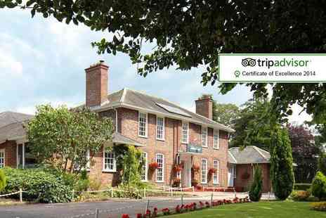 The Gables Hotel - One night stay for 2 including Two course dinner, breakfast - Save 49%