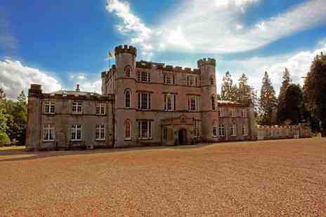 Melville Castle - One night stay for 2 including breakfast and a Two course dinner  - Save 33%