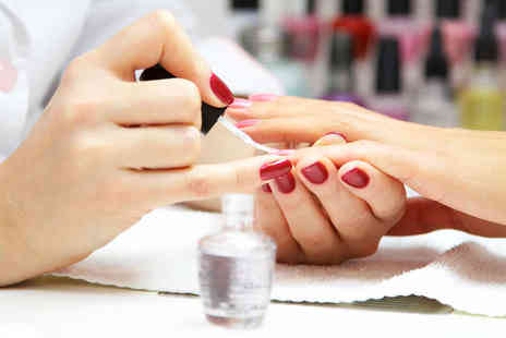 Essential Nails & Beauty - Reshape and Polish for Fingers, Reshape and Gel Polish for Fingers  - Save 50%