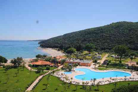 Camping Oliva Rabac - Seven nights camping by the sea for up to Five people with pool access and more - Save 49%