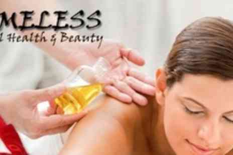 Timeless Beauty - Individual Pamper Package With Massage and Beauty Treatment Each - Save 61%