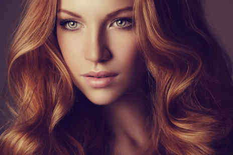 Kutz n Beauty - Haircut, Blow Dry, and Conditioning Treatment  with Full Head Colour or Half Head Highlights - Save 56%