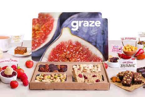 Graze -  Four Graze Boxes, Delivery Included - Save 64%