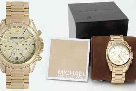 Grand Outlet - Michael Kors Designer Chronograph Watch - Save 45%