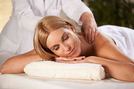 Salon Two - Full body massage or a Chine Glaze manicure & pedicure - Save 62%