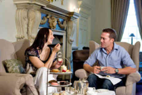 Rookery Hall Hotel & Spa - Afternoon Tea with a Glass of Sparkling Wine Each for Two - Save 35%