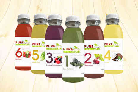 Pure Viva Cleanse - Three Day Juice Cleanse - Save 0%