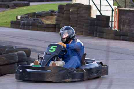 West Country Karting - 80 sprint laps for one - Save 0%