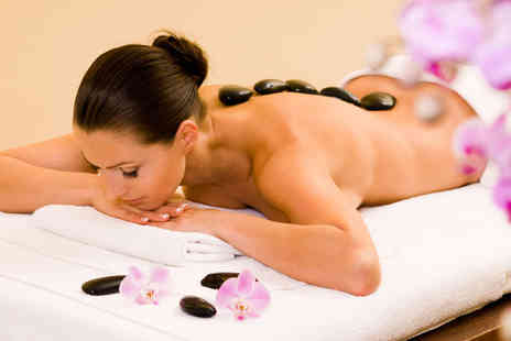 Love Hair and Beauty - Hot stone back massage and a mini manicure - Save 0%