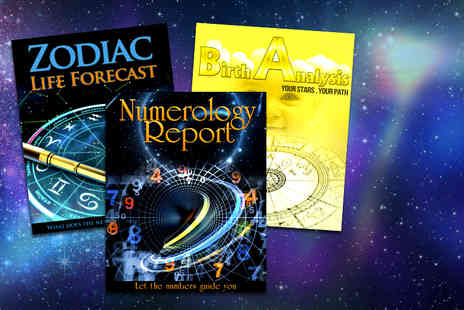 Stellar Astrology - Astrology life forecast natal birth report and numerology report - Save 92%