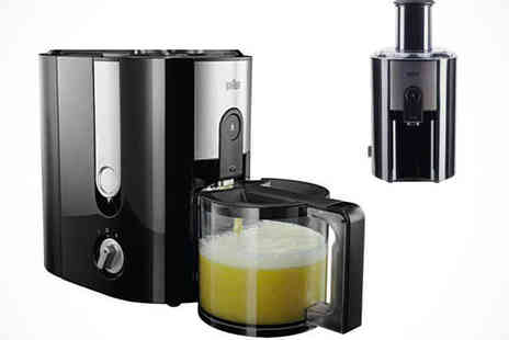 Kitchen Gadgets - Braun Fruit and Vegetable Juicer - Save 41%
