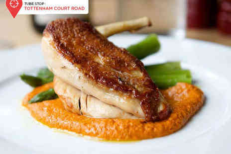 Stephen St Kitchen - Three Course Meal for Two with a Cocktail Each - Save 68%