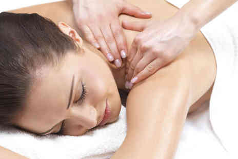 ND Beauty Skin Clinic - Swedish Back, Neck, and Shoulder Massage, Shellac Polish for Hands or Feet or Lymphatic Drainage Facial Massage  - Save 40%