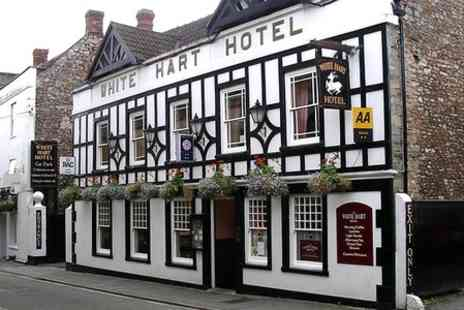 White Hart Hotel - Two Night Stay For Two With Breakfast  - Save 48%