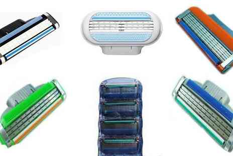 Trade Shop - Mens Gillette Compatible Razorblades x16 - Save 63%