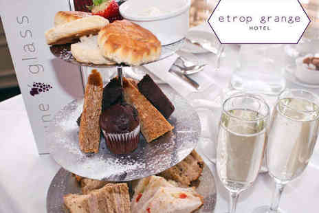 Etrop Grange Hotel - Afternoon Tea for Two with a Glass of Prosecco Each for Two  - Save 0%