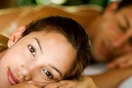 Purity Spa - Hot Stone Massage for Two with Glass of Bubbly - Save 74%