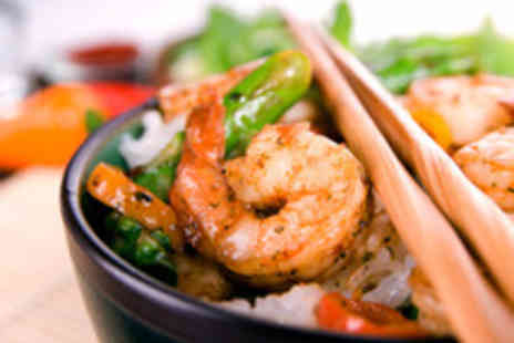 Shanghai 30s - Two Course Chinese Meal with a Glass of Wine each for Two - Save 44%
