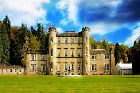 Melville Castle - A lovely night in Melville Castle with breakfast and lunch or afternoon tea - Save 48%