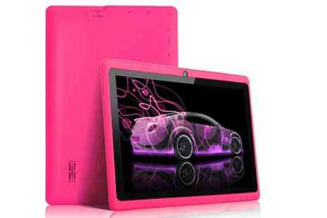 "Oasis Business Services Int - 7"" Android KitKat 4GB Tablet with Camera - Save 79%"
