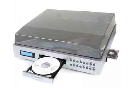 UK Surplus Central - Neostar Vinyl2CD USB Turntable CD Burner & Speakers - Save 46%